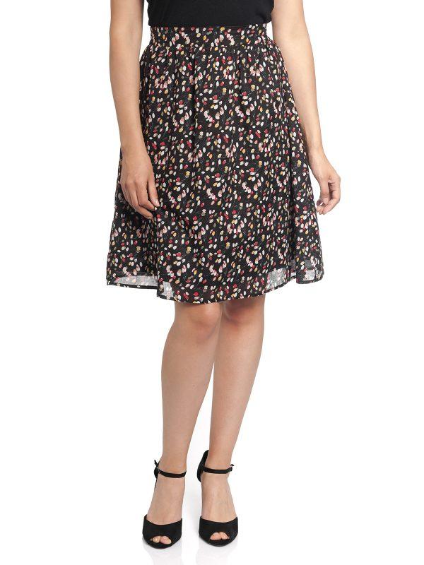 Vive Maria La Tulipe Douce Skirt black allover