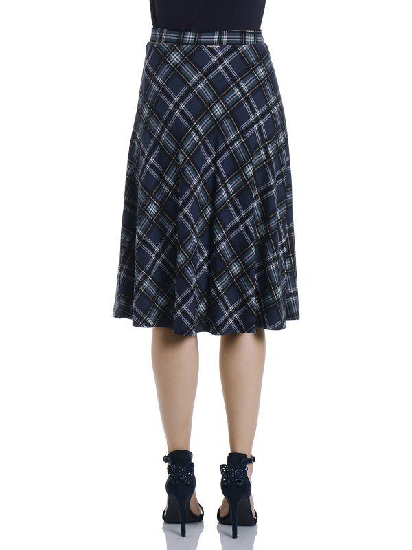 Vive Maria Very British Skirt darkblue allover